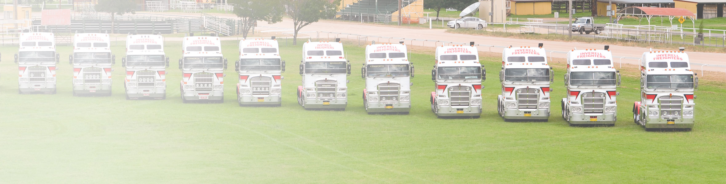 Inverell Freighters fleet of prime movers.